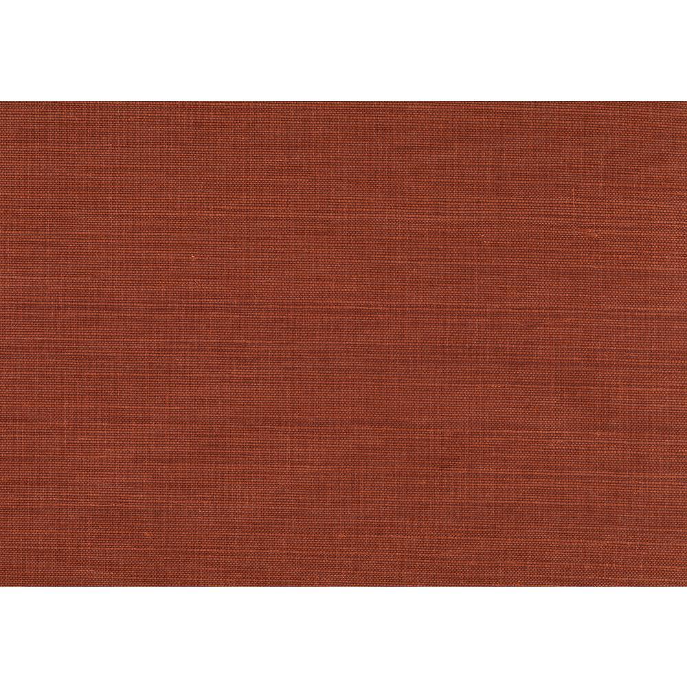 Red Grasscloth Wallpaper: Kenneth James 72 Sq. Ft. Kokoro Red Grasscloth Wallpaper