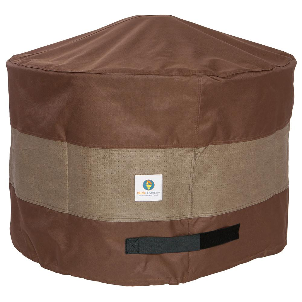 Duck Covers Ultimate 50 In Round Fire Pit Cover Ufpr5024