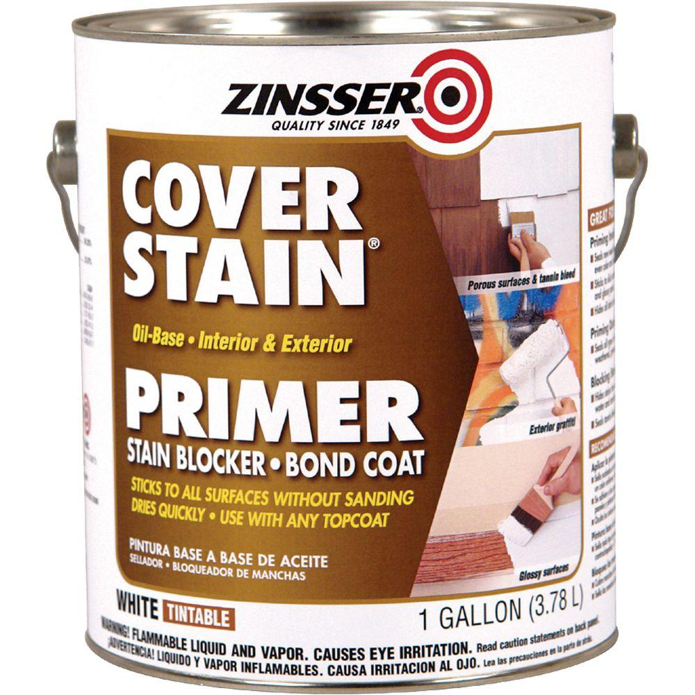 Zinsser 1-gal. Cover Stain White Primer Sealer-DISCONTINUED