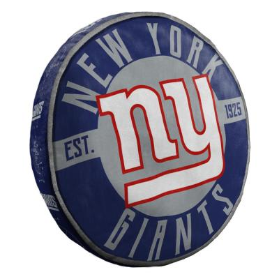 15 in. NY Giants Multi Color Polyester Cloud Standard Pillow
