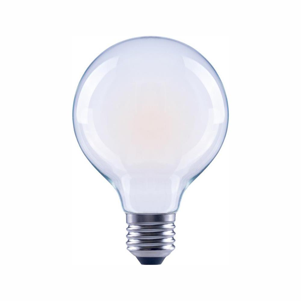 EcoSmart 40-Watt Equivalent G25 Globe Dimmable ENERGY STAR ...