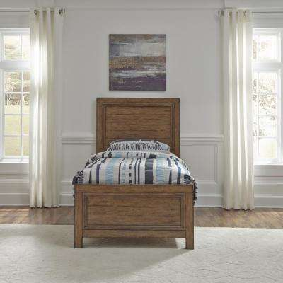 Sedona Toffee Brown Twin Bed