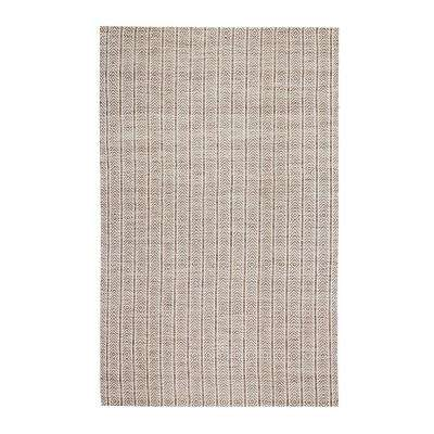 Lazy Lightning Tan 5 ft. x 7 ft. Area Rug