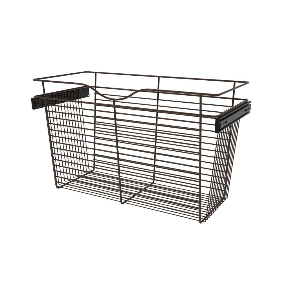 Rev-A-Shelf 30 in. x 18 in. Oil Rubbed Bronze Pull-Out Basket