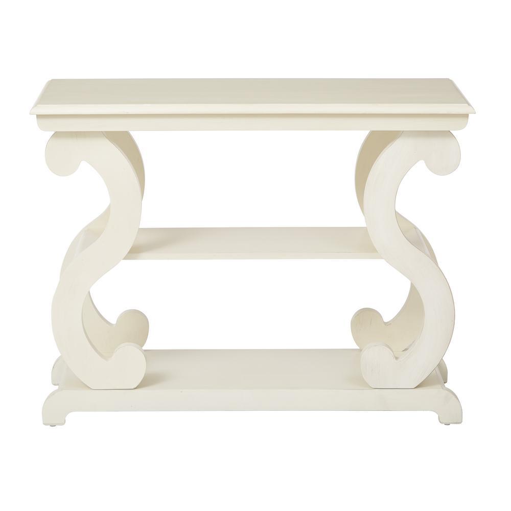 Ashland Antique Beige Console Table