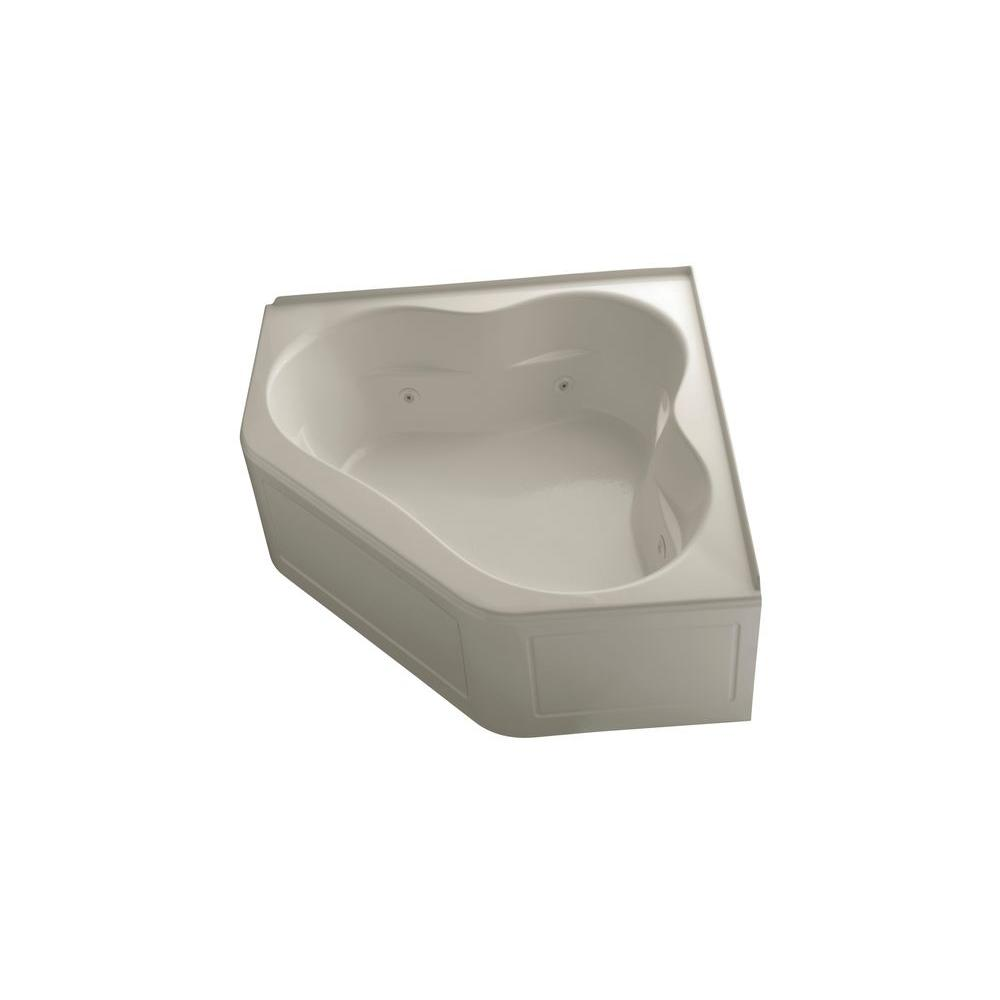 KOHLER Tercet 5 ft. Whirlpool Tub in Sandbar