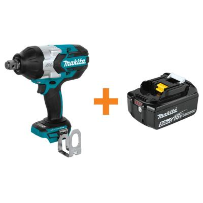 18-Volt LXT Brushless Cordless High Torque 3/4 in. Square Drive Impact Wrench with Bonus 18-Volt LXT 5.0 Ah Battery