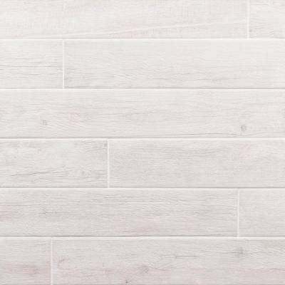 Grove Sky 4 in. x 24 in. 9.5mm Natural Porcelain Tile (20-piece 12.91 sq. ft. / box)