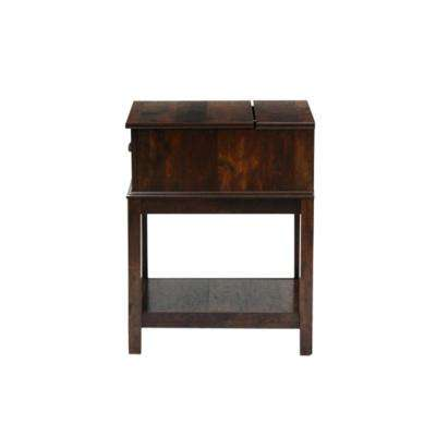 Harbor View Curado Cherry SmartCenter End and Side Table
