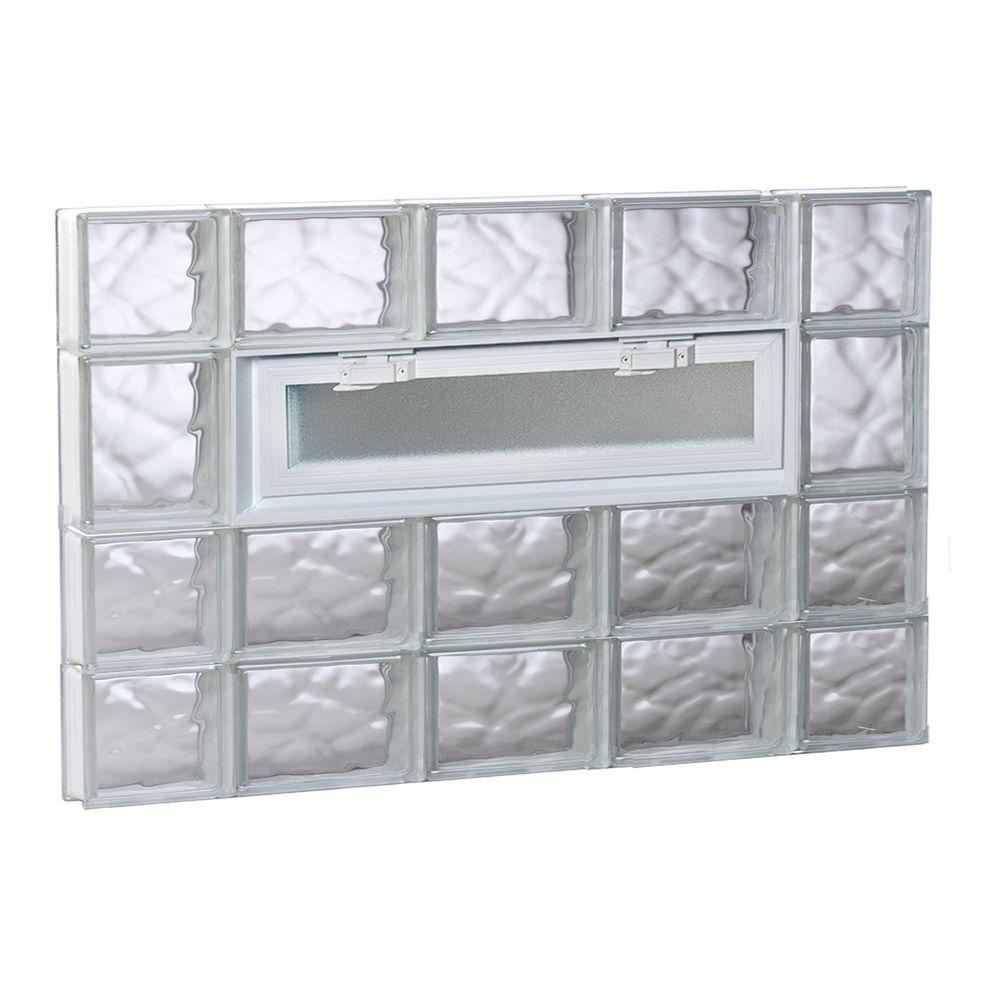 wavy glass windows reproduction antique clearly secure 3475 in 25 3125 frameless wave pattern
