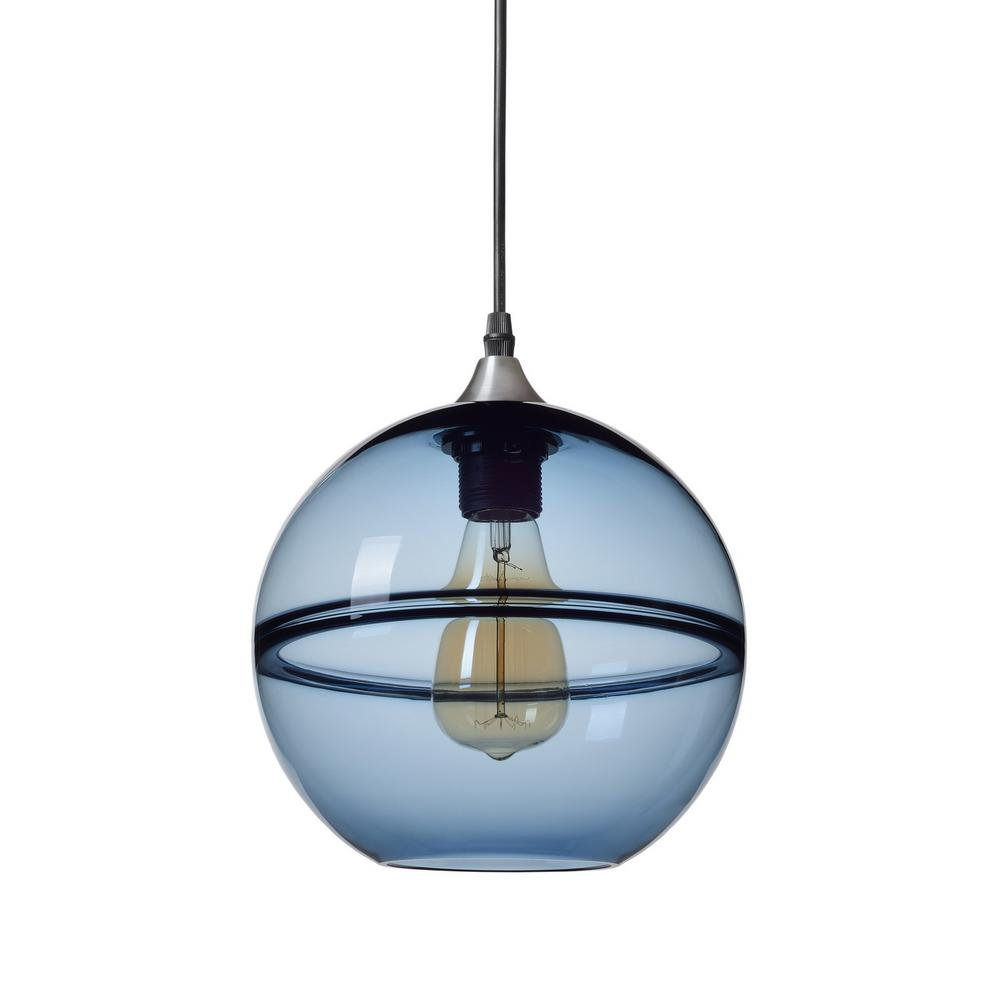 Casamotion 9 In. H 1-Light Unique Optic Contemporary
