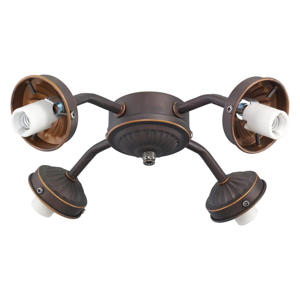 Monte carlo 4 light roman bronze fitter ceiling fan light kit mc37rb monte carlo 4 light roman bronze fitter ceiling fan light kit arubaitofo Image collections