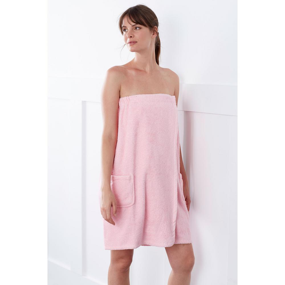 363c815cdb The Company Store Company Cotton Women s Large Extra Large Pink Lady Bath  Wrap. Write a review