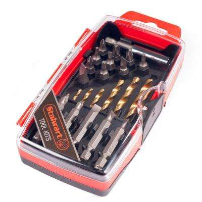 Titanium Drill and Driver Bit Set (23-Piece)