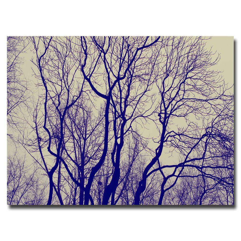 16 in. x 24 in. Branches Canvas Art