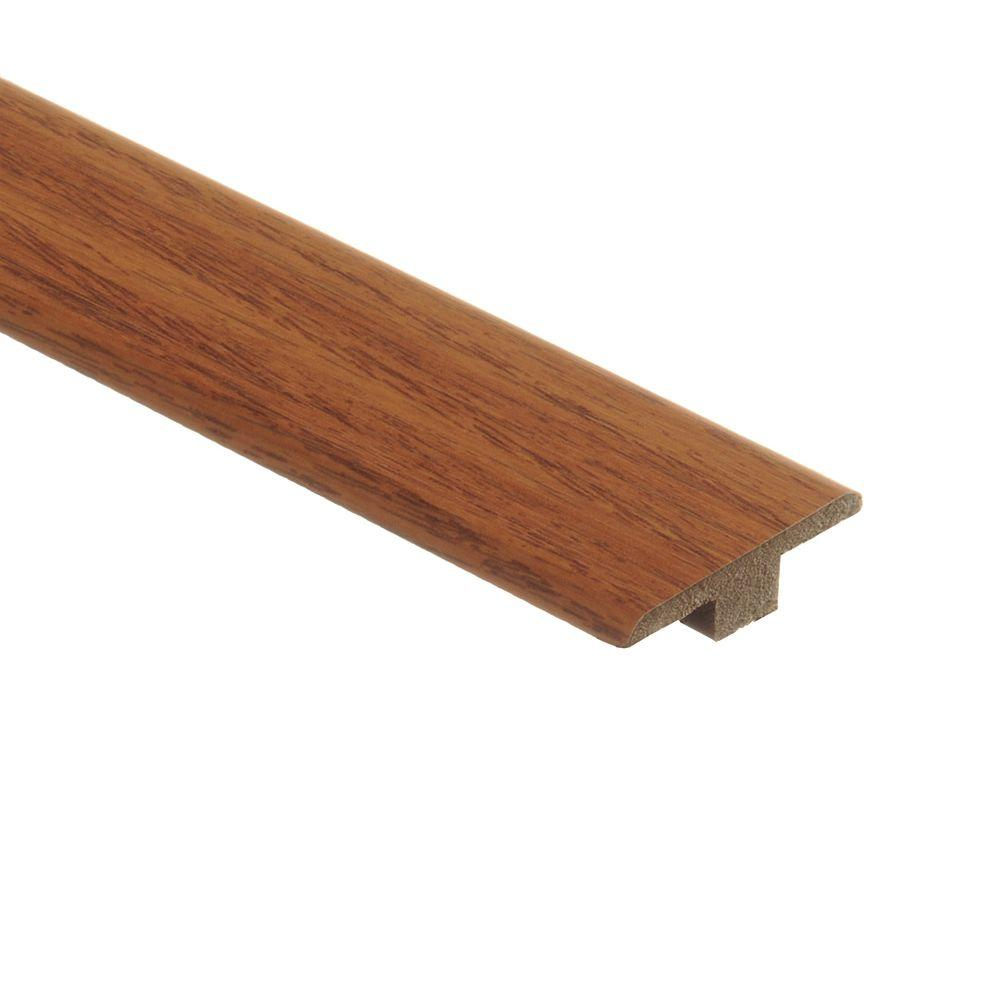 Zamma Baytown Oak 7/16 in. Height x 1-3/4 in. Wide x 72 in Length Laminate T-Molding