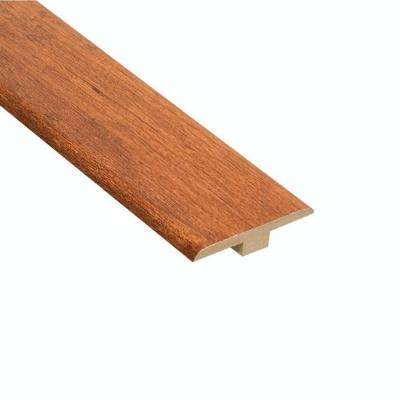 High Gloss Pacific Cherry 6.35 mm Thick x 1-7/16 in. Wide x 94 in. Length Laminate T-Molding