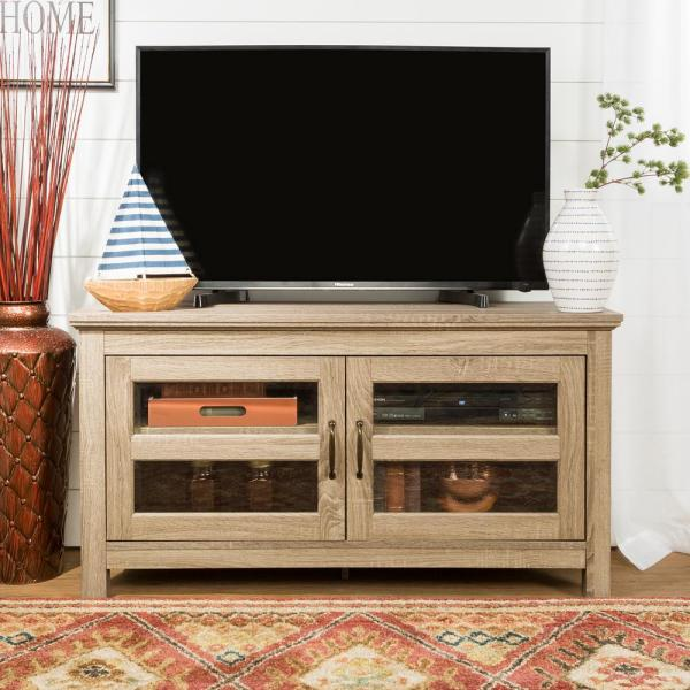 Walker Edison Furniture Company 44'' Wood TV Stand - Driftwood HD44CFDAG