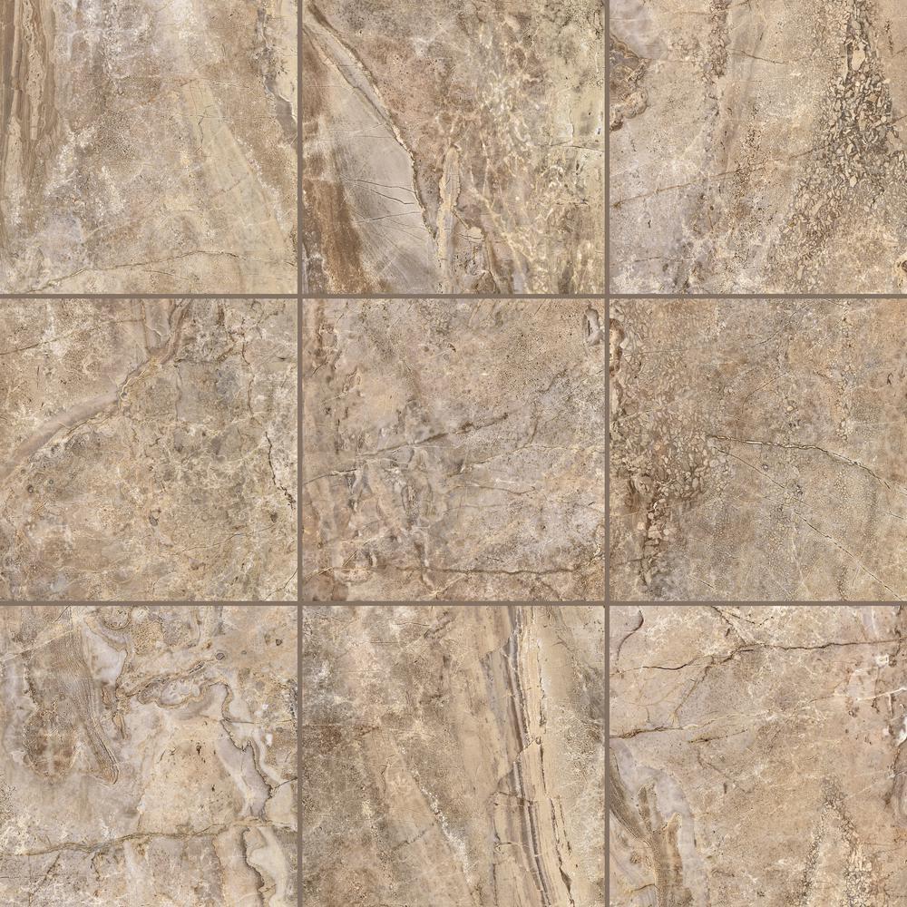 Terrain Beige 18 in. x 18 in. Porcelain Floor and Wall Tile (17.44 sq. ft. / case)