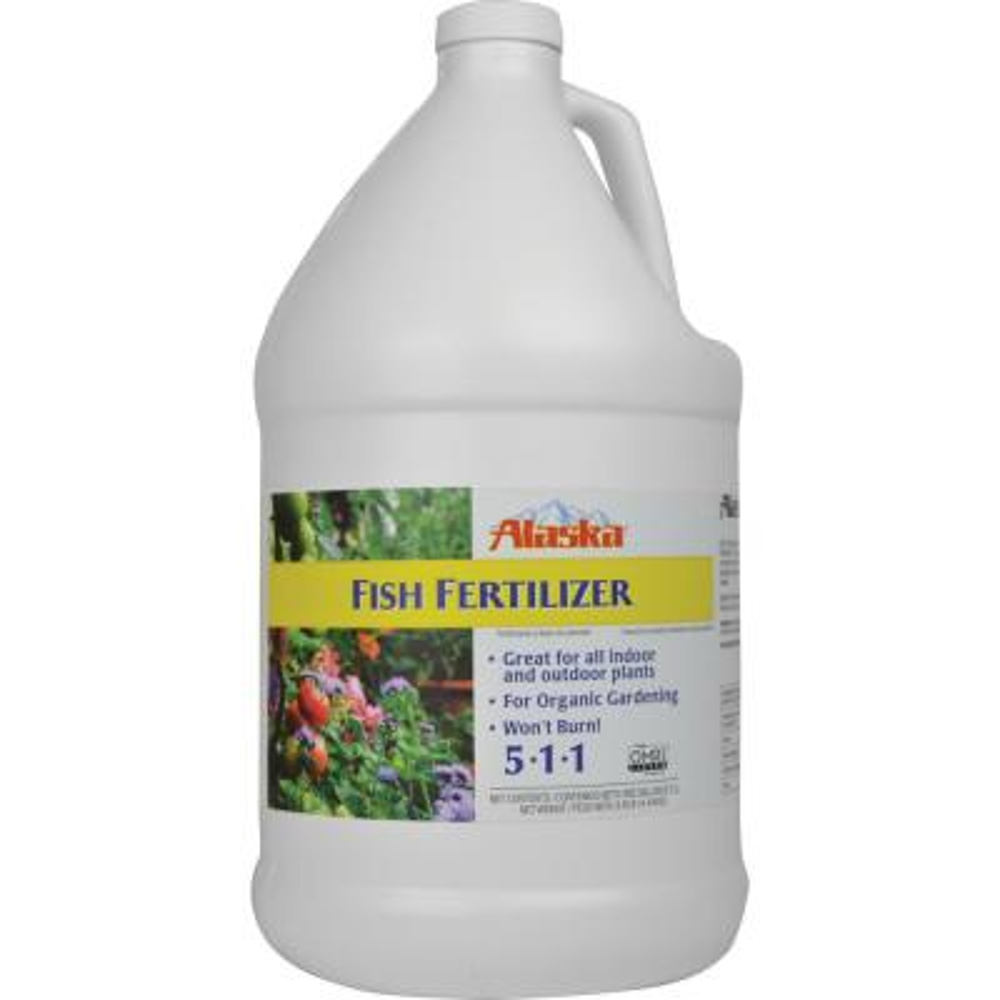 1 Gal. 5-1-1 Liquid Fish Fertilizer