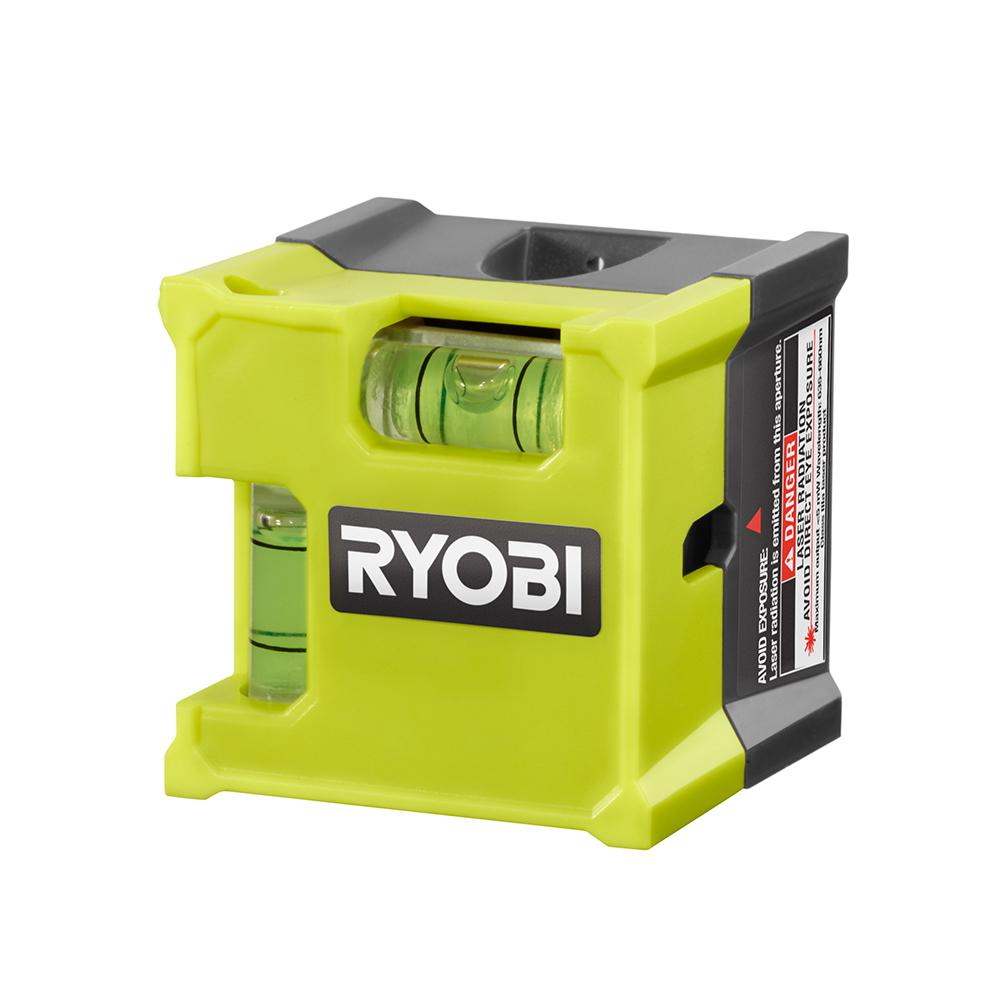 Ryobi Laser Cube Compact Laser Level Ell1500 The Home Depot