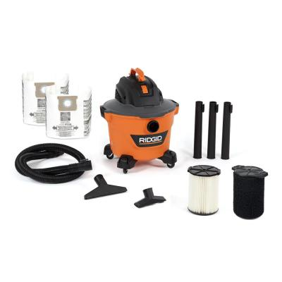 9 Gal. 4.25-Peak HP NXT Wet/Dry Shop Vacuum with Standard Filter, Wet Filter, Dust Bags, Hose and Accessories