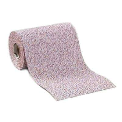 "4-1/2 in. Premium Plus Stearated Aluminum Oxide 80 Grit PSA ""Sticky-back"" Rolls, 10-Yds."