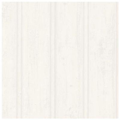 Grayling Cream Textured Wood Paneling Vinyl Peelable Roll Wallpaper (Covers 56.4 sq. ft.)