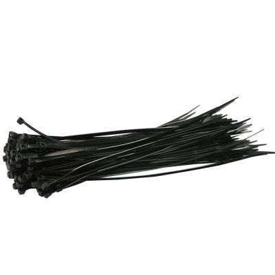 11 in. Heavy Duty Black Nylon Cable Ties (500-Piece)