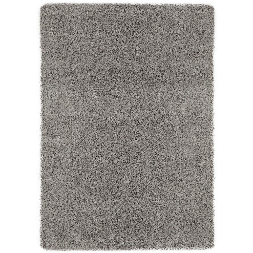 Sweet Home S Cozy Shag Collection Grey 8 Ft X 10 Indoor Area Rug