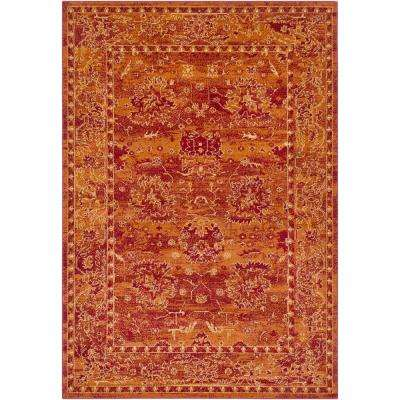 Burnt Orange 5 X 8 Area Rugs Rugs The Home Depot