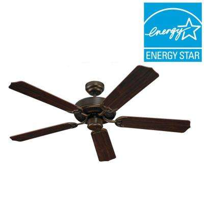 Quality Max 51 in. Russet Bronze Ceiling Fan