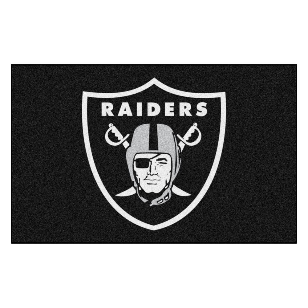 NFL 8 ft.x 5 ft. Las Vegas Raiders Rug