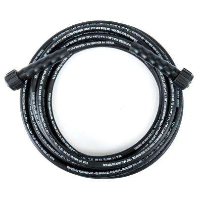 1/4 in. x 25 ft. 4000 PSI Maximum Pressure Washer Replacement/Extension Hose with Extension Adapter Included