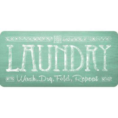 20 in. x 42 in. Laundry Foam Mat