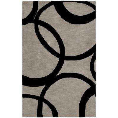 Astronomy Gamma Graphite 9 ft. 6 in. x 13 ft. Area Rug