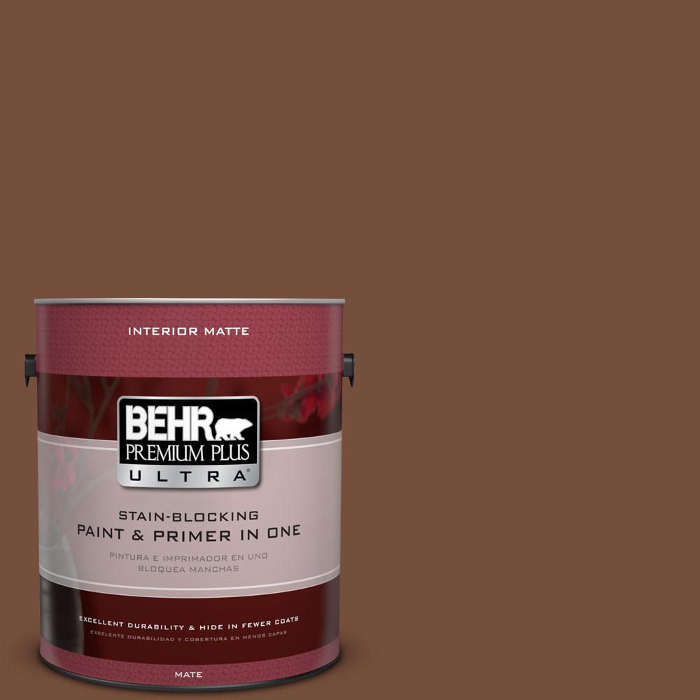 1 gal. #240F-7 Root Beer Flat/Matte Interior Paint