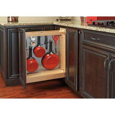 8 in. Stainless Steel Base Cabinet Organizer SC