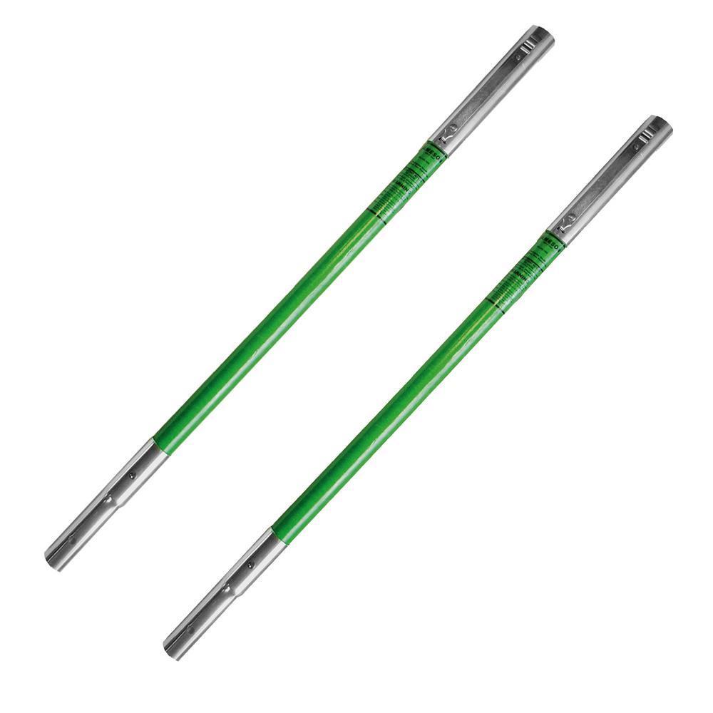 6 ft. LS Hollow Core Extension Fiberglass Pole, (2-Pack)