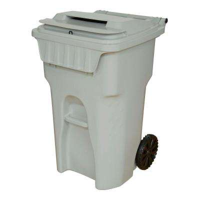 65 Gal. Grey Wheeled Document Security Cart