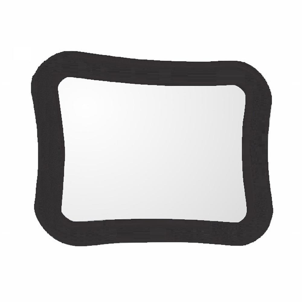 Teramo 28 in. W x 22 in. H Framed Novelty/Specialty Bathroom Vanity Mirror in Espresso
