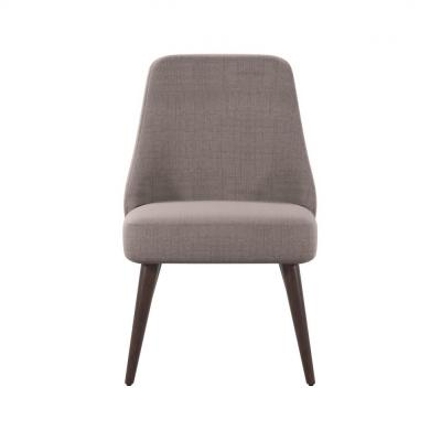 Desiree 32.25 in. Gray Accent Chairs (Set of 2)