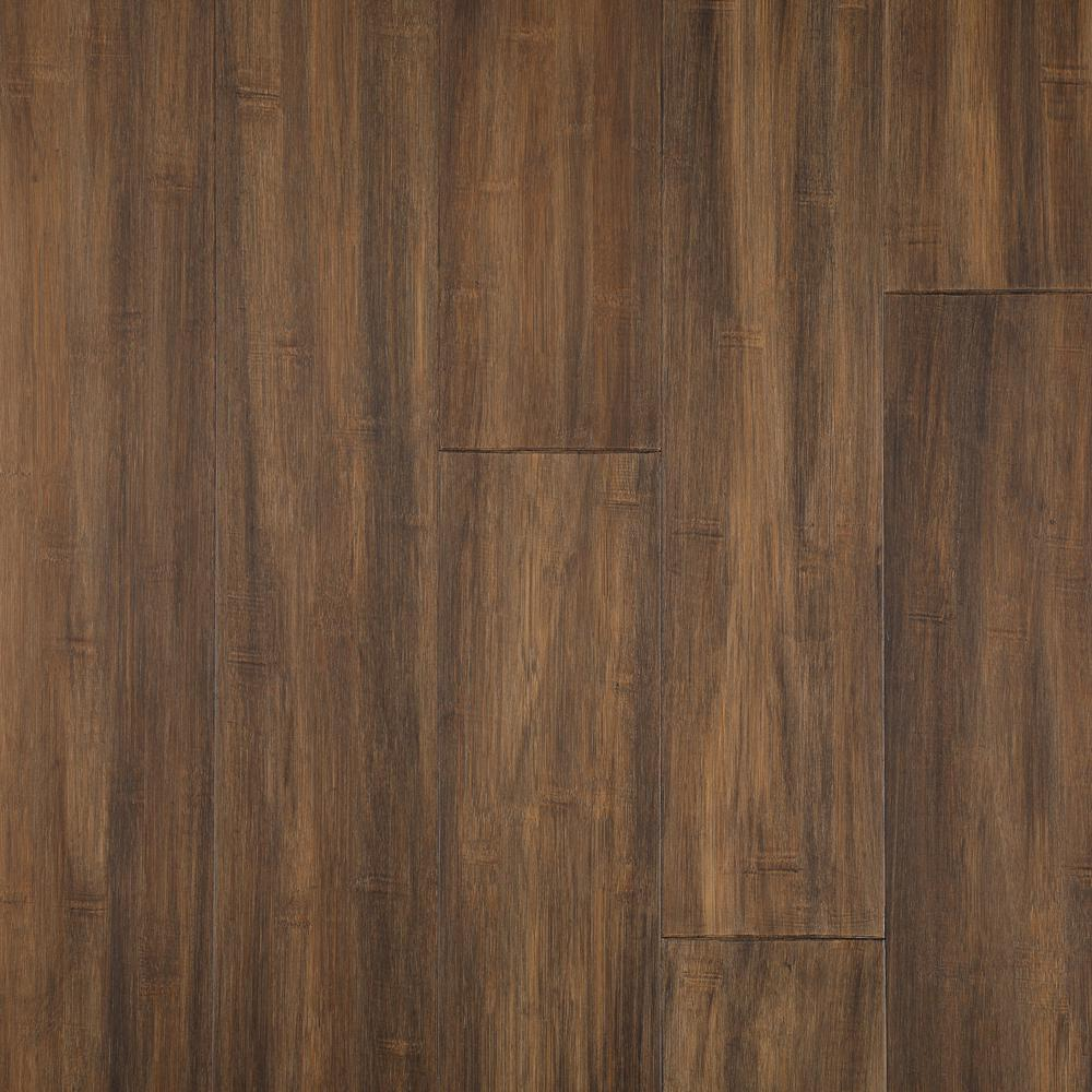 Home Decorators Collection Horizontal Hand Scraped Sepia 3/8 in. T x 5 in. W x 38.58 in. L Click Lock Bamboo Flooring (26.79 sq. ft. / case) was $77.42 now $50.32 (35.0% off)