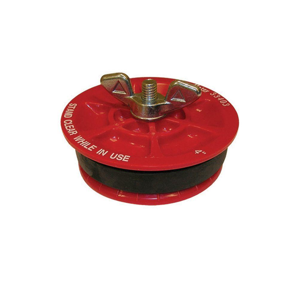 Oatey 4 in  Gripper Mechanical Plastic Test Plug