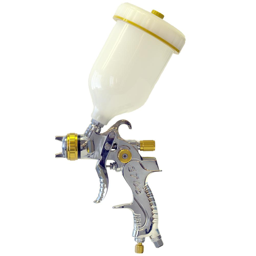 Gravity Feed HVLP Paint Sprayer with 1.4 mm Head