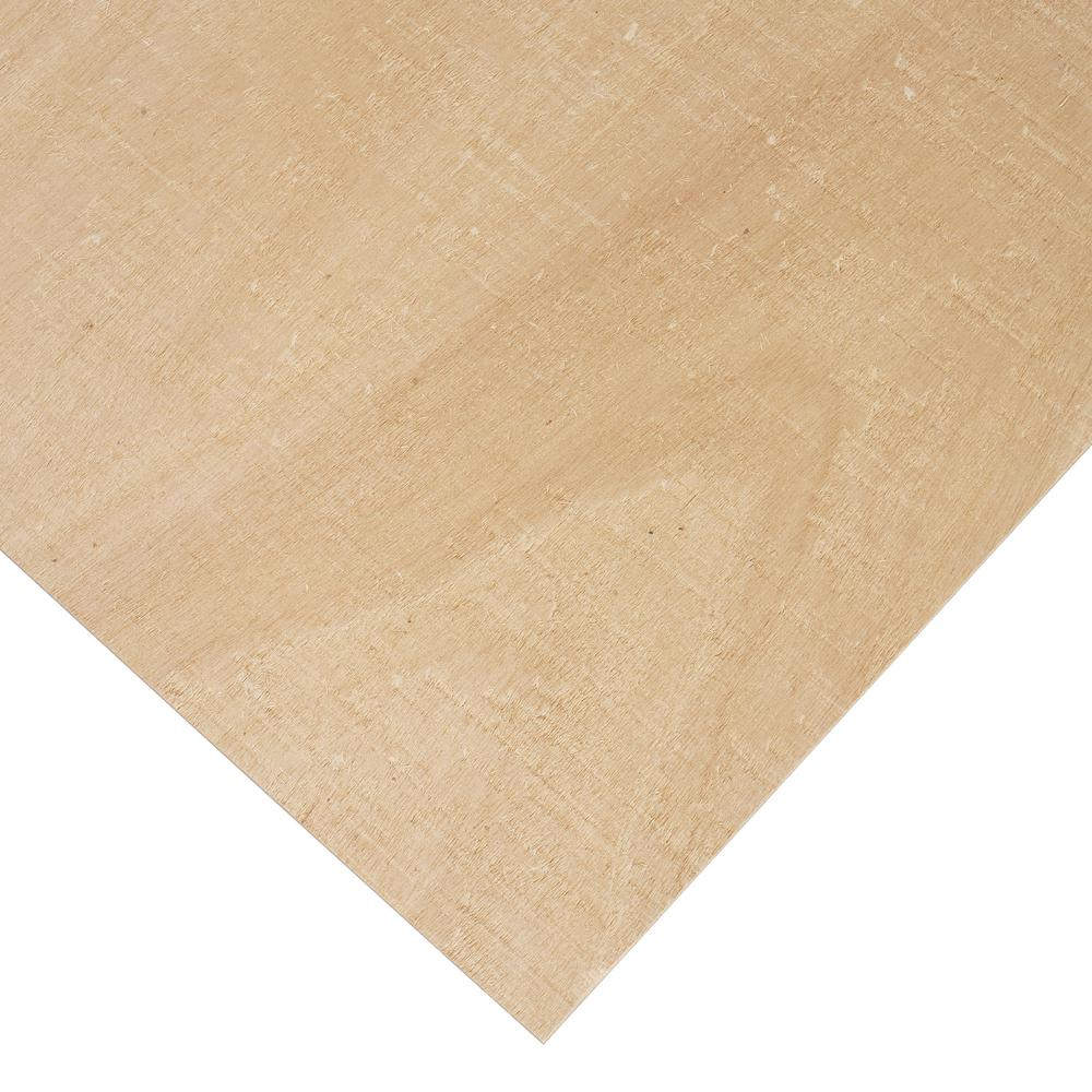ColumbiaForestProducts Columbia Forest Products 3/8 in. x 4 ft. x 4 ft. PureBond Radius Bending Plywood Project Panel