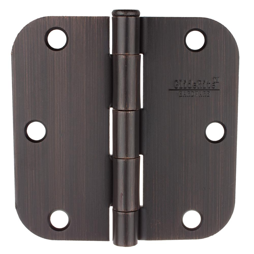 Door Hinges Product : Gliderite in oil rubbed bronze steel door hinge