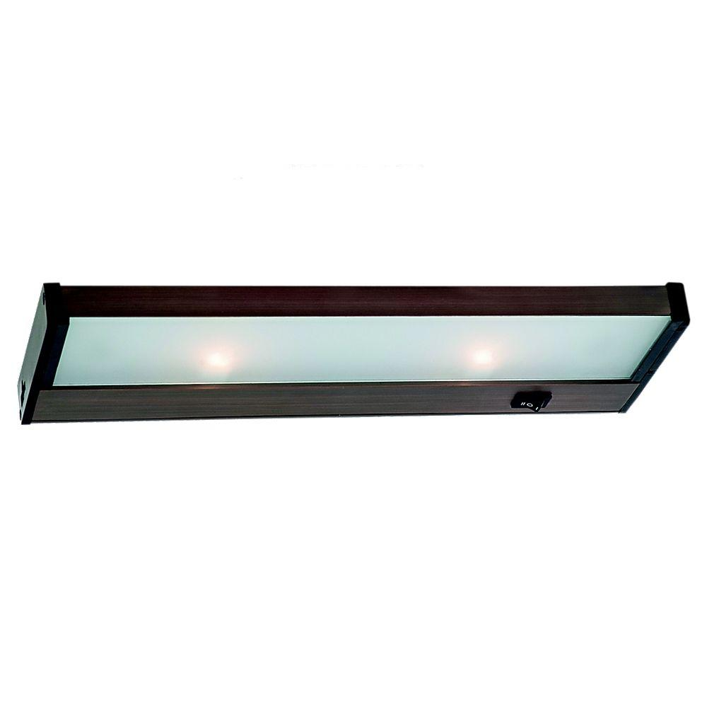 Sea Gull Lighting Ambiance 2 Light 120 Volt Self Contained Plated Bronze Xenon Task
