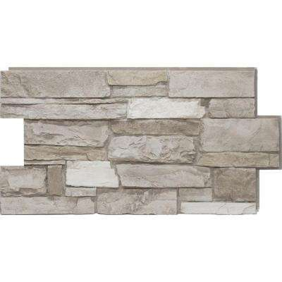 24 in. x 48 in. Ledgestone Almond Taupe Stone Veneer Panel