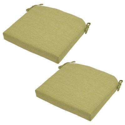 21 x 20.5 Outdoor Chair Cushion in Standard Luxe Solid (2-Pack)